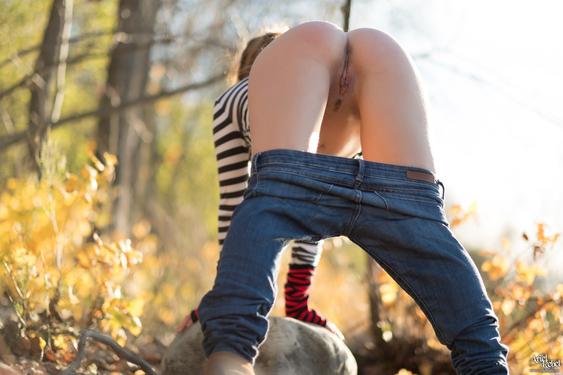 Ariel Rebel Nude Hiking - 09