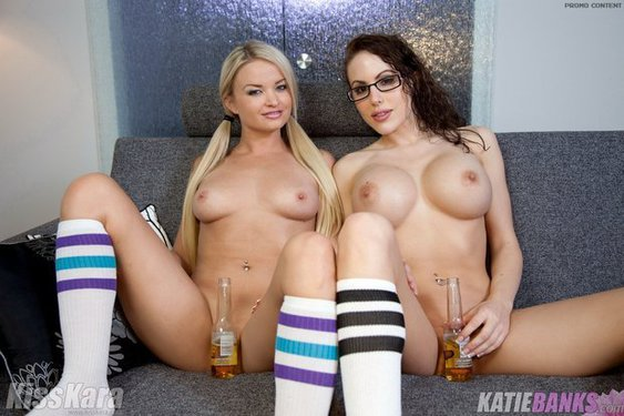 Kiss Kara And Katie Banks On Girls Night Out - 12