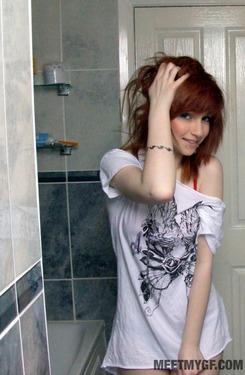 Photo #5 of 15+ | Redhead Emo Girl