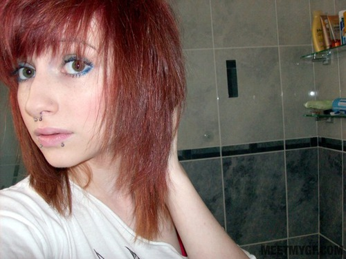 Photo #8 of 15+ | Redhead Emo Girl