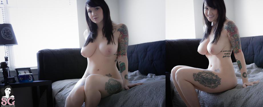Photo #10 of 15+   Busty Tattooed Babe Phecda