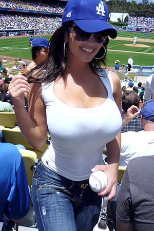 Denise Baseball And Boobs