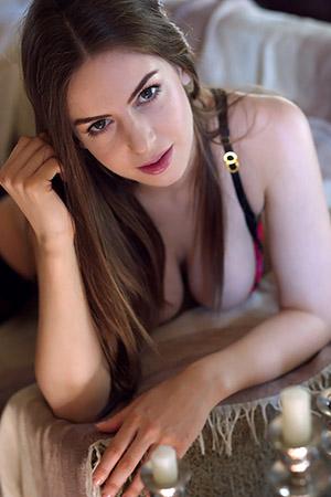 Stella Cox Topless In Black Stockings