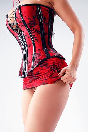 Bianca Beauchamp Red Corset