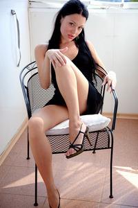 Kasia Black Dress