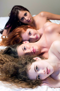 Red Fox, Paula Shy, Sindy Black, Vanessa