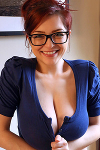 Tessa Fowler Having Fun Exposing Her Huge Bosoms