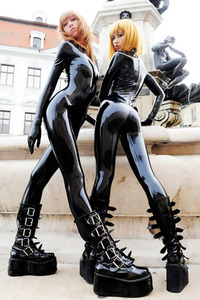 Princess Fatale Tight Latex Duo