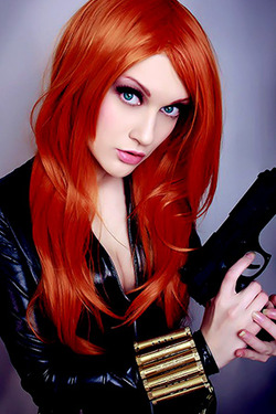 Black Widow Cosplay Girls