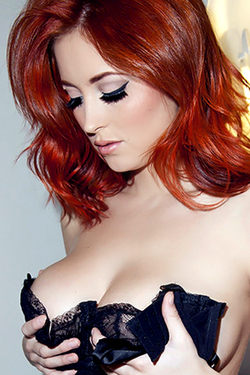 Lucy Collett For Nuts Magazine