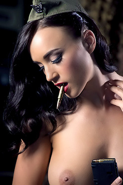 Rosie Jones Hot Shot Calendar Backstage