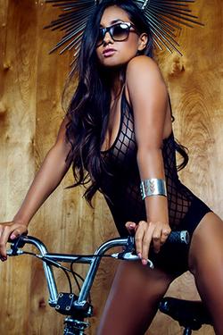 Jeannie Santiago lets padle for Playboy Plus