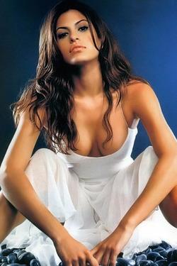 Sexy Eva Mendes For CeleTaboo
